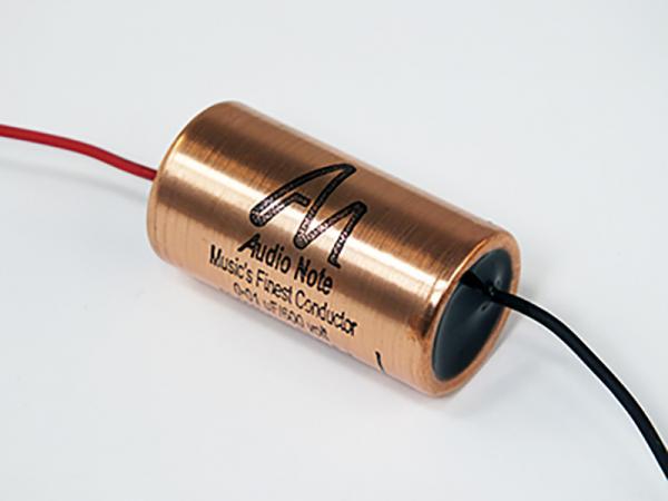 Audio Note Capacitor 0.01uF 600Vdc Silver Foil