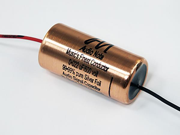 Audio Note Capacitor 0.022uF 600Vdc Silver Foil