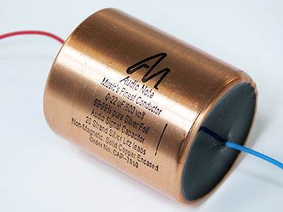 Audio Note Capacitor 0.22uF 600Vdc Silver Foil