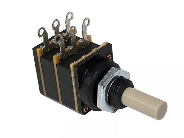 Audio Note 100K Stereo Volume Potentiometer Log (audio) Taper Solder Lug
