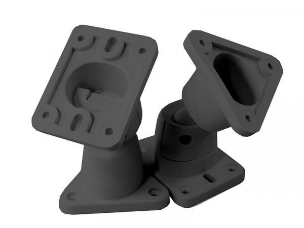 B-TECH BT6 Ball Joint Multi-Angle Speaker Brackets (Black)
