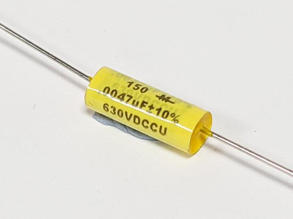 CDE (Mallory) 0.0047uF 630Vdc Type 150M Series Metallized Polyester Film Capacitor
