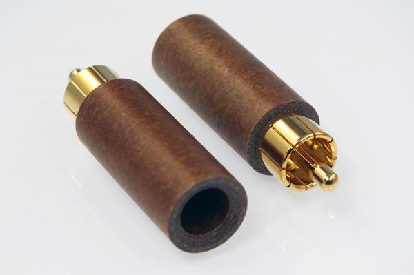 Duelund Connector RCA Male Plugs Gold