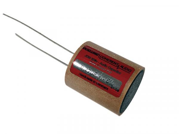 Duelund 0.22uF 600Vdc JDM-Cu Pure Copper Foil Capacitor