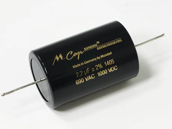 Конденсатор Mundorf 2.2 мкФ 1000 В пост.
