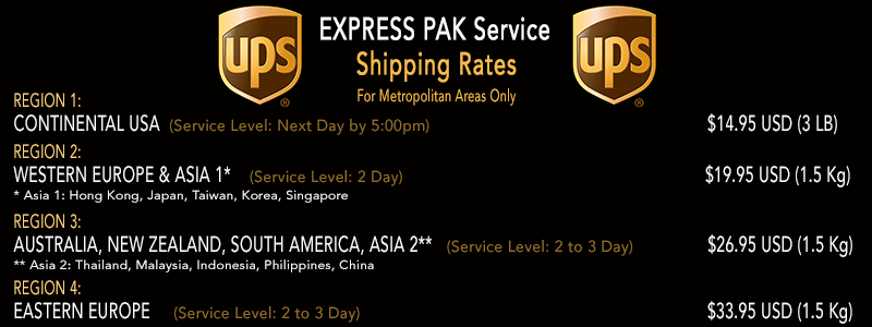 Click To See UPS Rates